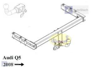Hak holowniczy AUDI Q5 8R od 2008 AUTOMAT