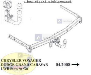 hak holowniczy chrysler voyager ch48v