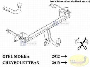hak-holowniczy-chevrolet-trax-e58