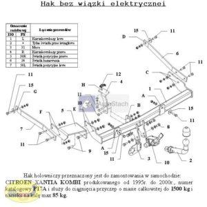 hak-holowniczy-citroen-xantia-kombi-p17a