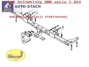Hak holowniczy BMW 5 E 34, 4drz. 01.1988/11.1995