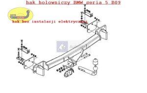 Hak holowniczy BMW 5 E 39, Kombi 02.1997 / 01.2004