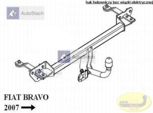 hak holowniczy FIAT BRAVO 5 drz. od 04.2007