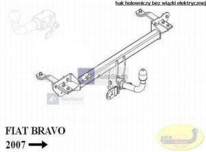 hak holowniczy FIAT BRAVO 5 drz. od 04.2007 AUTOMAT