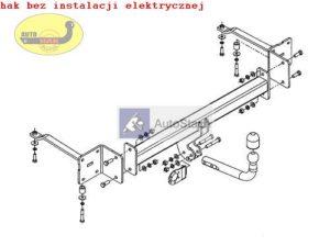 hak holowniczy FIAT CROMA 5 drz./Kombi (194) od 06.2005