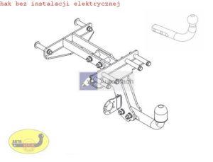 hak holowniczy FIAT STRADA Pick-up od 06.1999