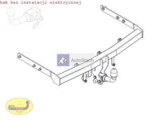 hak holowniczy FORD GALAXY 5 drz. (Mk1), VAN, też 4x4 06.1995 / 05.2000 AUTOMAT